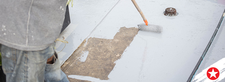 How do you paint a concrete floor