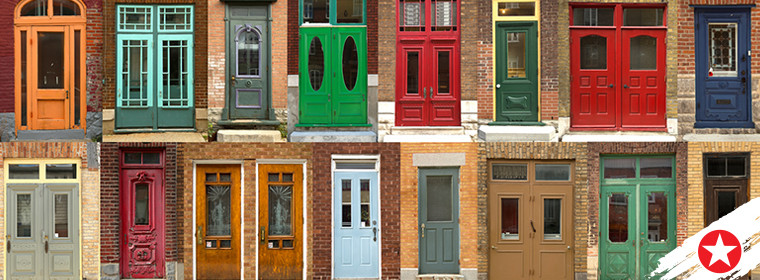 5 fabulous front door paint colours