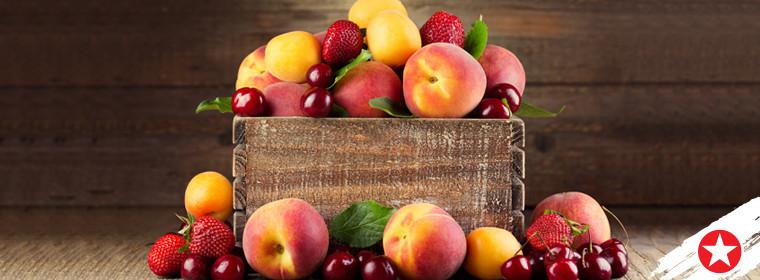 Fruity colour palettes