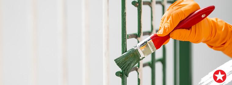 paint gates